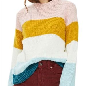 Striped Topshop Sweater